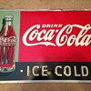 1930's Coke Tin Sign