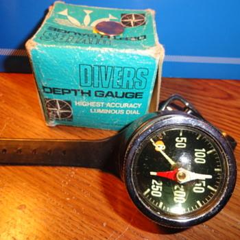 Diver's depth gauge