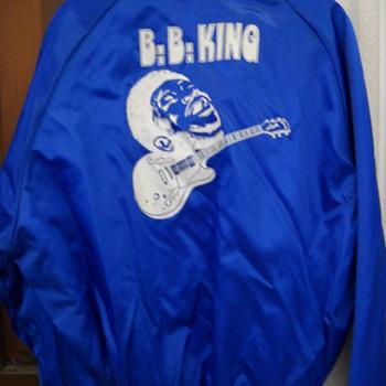BB KING SATIN TOUR JACKET - Music Memorabilia