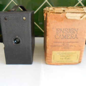 Vintage Ensign Box Camera.