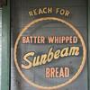 Sunbeam Bread screen door.