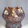 "Loetz Pink ""Orbulin"" Vase. 5.5"" tall. Circa 1902"