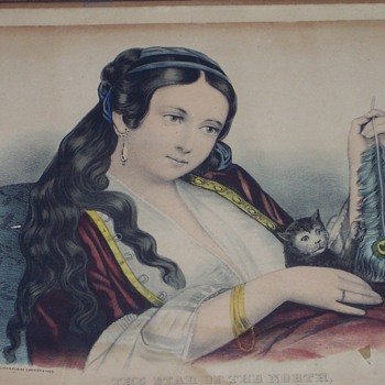 CURRIES & IVES LITHO GRAPH 1800'S - Posters and Prints