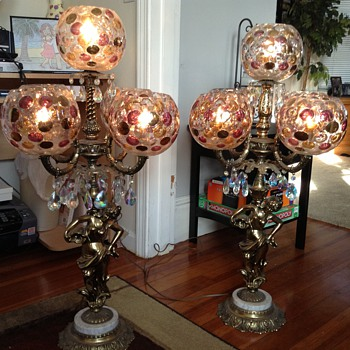 A thrift store find - Lamps