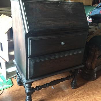 Vintage Secretary or Butler's desk found