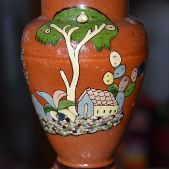 Tlaquepaque Vase from Mexico - Pottery