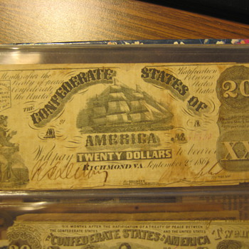 Civil War Money 3 - US Paper Money