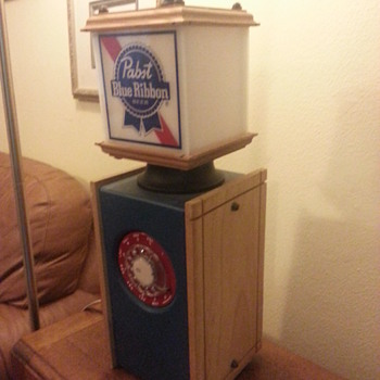 Pabst Blue Ribbon - unique beer light and phone