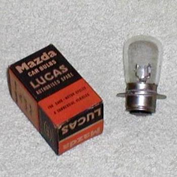 1960's - Lucas Mazda Lamp Bulb - Classic Cars