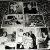 Lot of original candid photos of Joan Crawford and her family