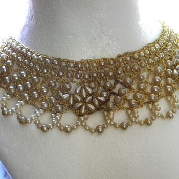 Bib Necklace, I think its old ???????????