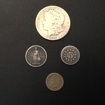 Old coins.