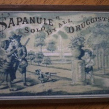 Sapanule - sold by all druggists - Advertising