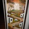 Oil on Canvas Farm Scene