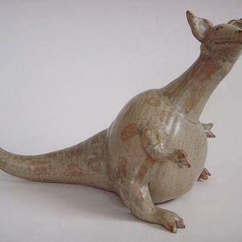 Clay Beastie, Lovable Critter~Signed, but is it Devin?