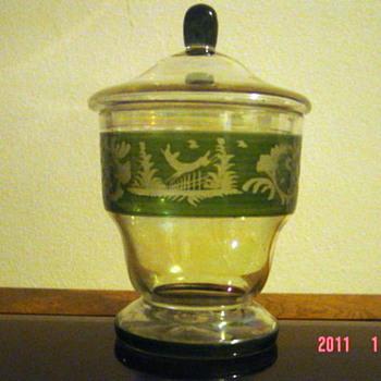 Glass Jar - Art Glass