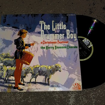 'The Little Drummer Boy'....On 33 1/3 RPM Vinyl - Christmas