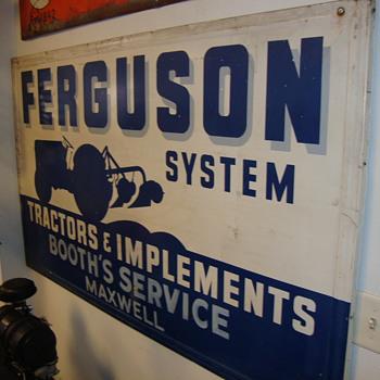 Ferguson sign