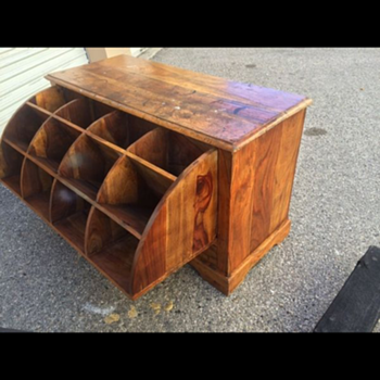 "Heavy wooden ""unknown"" mystery dresser  - Furniture"