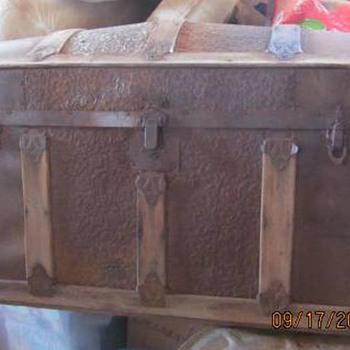Antique Trunk #3 - Furniture