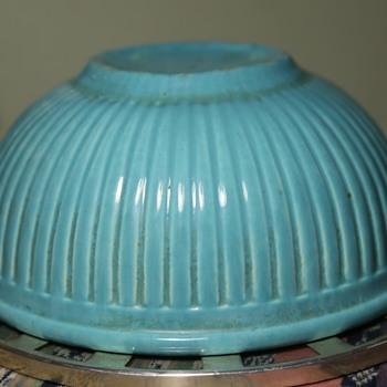 Small Mixing Bowl - Redwing Gypsy Trail Reed Pattern - Kitchen
