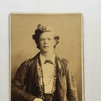 Antique Western Portrait Photograph  - Photographs
