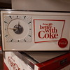1960's Things go better with Coke clock