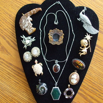 Miscellaneous Costume & Fine Jewelry From Thrifts & Consignment Stores - Costume Jewelry