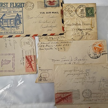 New to the stamp world. Inherited help needed - Stamps