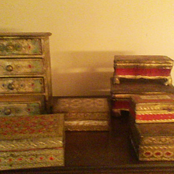 Decorative boxes made in Italy