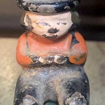 Cast Iron Amish Boy figurine - Figurines