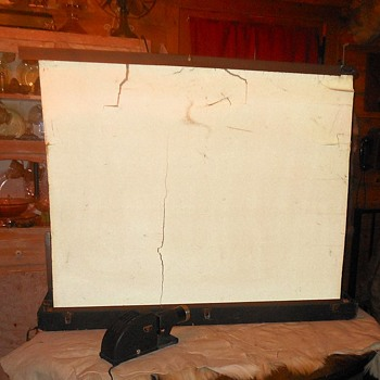Vintage Da-Lite Projector Screen