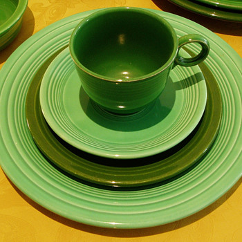 Fiesta Dinnerware  - Mid-Century Modern