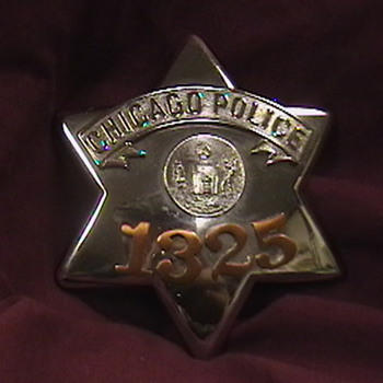 "Chicago Police ""Pie Plate"" Badge"
