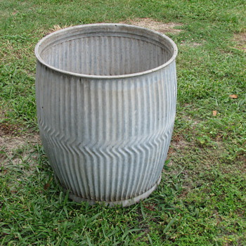 Vintage Rain Barrel - Tools and Hardware