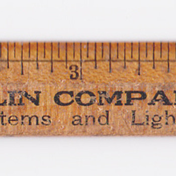 "6"" Ruler Bacon-Taplin company Springfield Ma - Office"