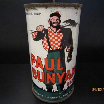 Paul Bunyan Beer Can - Breweriana