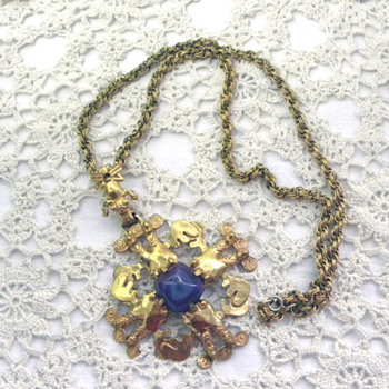 My favourite necklace by Castlecliffe - Costume Jewelry