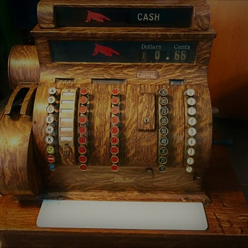 NCR 852 Antique Cash Register, aka 'Johnny Cash' - Office