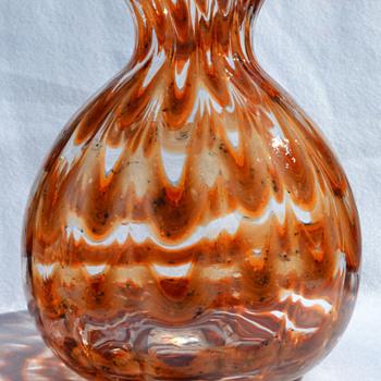 "Kralik ""Zigzag"" large vase - Art Glass"