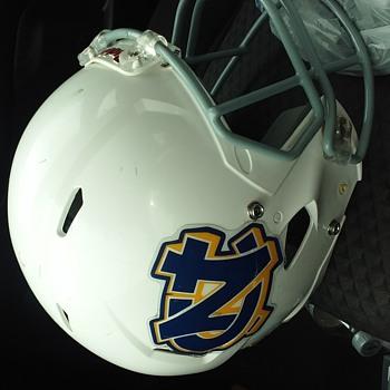 North Carolina football helmet - Football