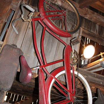 1941 firestone supercruiser and a ashford new england tandem bike  - Sporting Goods