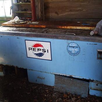 Garage find Pepsi Cooler