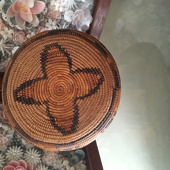 Basket found today . Native American ?  - Native American