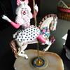 Ron Lee Lara Sculpture on a Carousel Horse