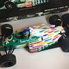 Minichamps Benetton B186 G. Berger (1/18 scale, 2001)