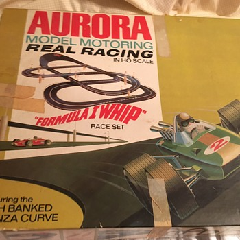 Aurora 1968 Real Racing in HO Scale - Model Cars