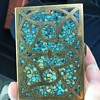Brass & Turquoise Box made India