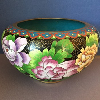 Chinese Cloisonne Bowl - Asian