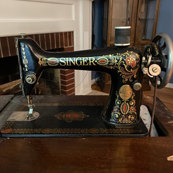 Singer sewing machine G9286417 - Sewing